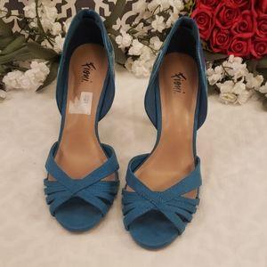 Blue fioni heeks